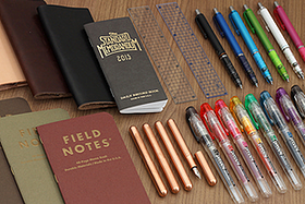 New Products: Lovely Fountain Pens, Inspiring Pocket Notebooks, Innovative Mechanical Pencils, Convenient Rulers, and More!