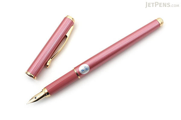 Pilot Cavalier Fountain Pen - Pink - Fine Nib - PILOT FCA-3SR-P-F