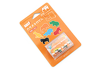 Midori Point & Writing Marker Die-Cut Sticky Notes - Safari - MIDORI 11381006