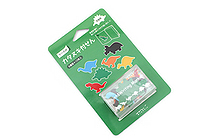 Midori Point & Writing Marker Die-Cut Sticky Notes - Dinosaurs - MIDORI 11383006