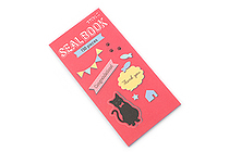 Midori Seal Book Stickers - Cats - MIDORI 84592006