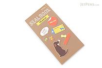 Midori Seal Book Stickers - Dogs - MIDORI 84593006
