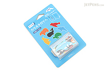 Midori Point & Writing Marker Die-Cut Sticky Notes - Aquarium - MIDORI 11384006