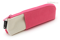 Cubix Two Tone Pen Case - Pink / Ivory - CUBIX 106164-06-80