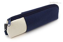 Cubix Two Tone Pen Case - Navy / Ivory - CUBIX 106164-08-80