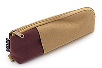 Cubix Two Tone Pen Case - Light Brown / Mocha Brown - CUBIX 106164-19-80