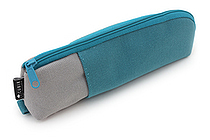 Cubix Two Tone Pen Case - Light Blue / Gray - CUBIX 106164-45-80