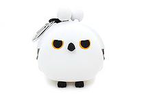 P+G 3D Pochi Friends Owl Case - White - P+G 3D POCHI OWL WT