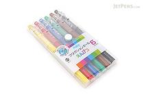 Pilot FriXion Color-Pencil-Like Erasable Gel Pen - 0.7 mm - 6 Color Set - PILOT LFP-78FN-6C