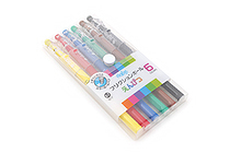 Pilot FriXion Color-Pencil-Like Erasable Gel Pen - 0.7 mm - 6 Color Set - PILOT LFP-78FN-6C