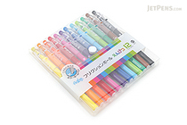 Pilot FriXion Color-Pencil-Like Erasable Gel Pen - 0.7 mm - 12 Color Set - PILOT LFP-156FN-12C