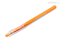 Pilot FriXion Color-Pencil-Like Erasable Gel Pen - 0.7 mm - Orange - PILOT LFP-13F-F03