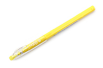 Pilot FriXion Color-Pencil-Like Erasable Gel Pen - 0.7 mm - Yellow - PILOT LFP-13F-F01