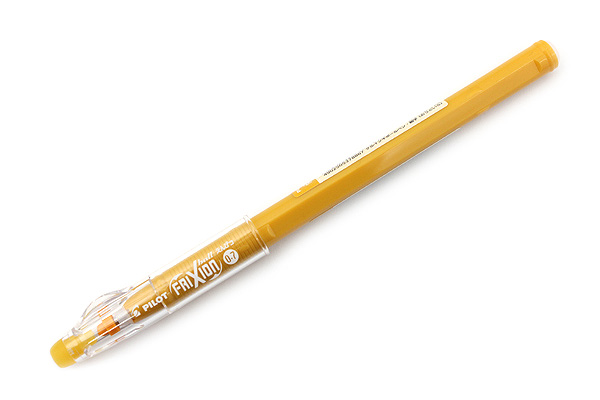 Pilot FriXion Color-Pencil-Like Erasable Gel Pen - 0.7 mm - Yellow Ocher - PILOT LFP-13F-F20