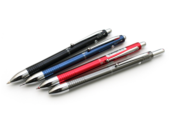 Platinum MWBM-1500A 2 Color 0.7 mm Ballpoint Multi Pen + 0.5 mm Pencil - Blue Body - PLATINUM MWBM-1500A 56