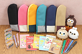 New Products: Fun Pen Cases, Smooth Roller Ball Pens, Innovative Mechanical Pencils, Cute Cases, Irresistible Stickers and More!