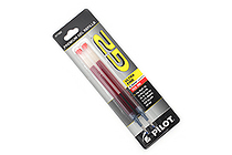 Pilot G2 Gel Pen Refill - 0.38 mm - Red - Pack of 2 - PILOT 77002