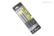 Pilot G2 Gel Pen Refill - 0.38 mm - Black - Pack of 2 - PILOT BG23RBLK