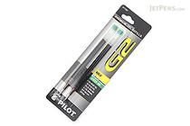 Pilot G2 Gel Pen Refill - 1.0 mm - Green - Pack of 2 - PILOT BG21RGRN