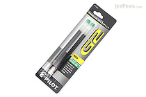 Pilot G2 Gel Pen Refill - 1.0 mm - Green - Pack of 2 - PILOT BG21RGRN