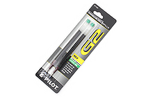 Pilot G-2 Gel Pen Refill - 1.0 mm - Green - Pack of 2 - PILOT 77361