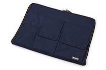 Lihit Lab Teffa Bag in Bag - A4 - Limited Edition - Navy - LIHIT LAB A-7554-111