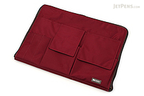 Lihit Lab Teffa Bag in Bag - A4 - Limited Edition - Wine Red - LIHIT LAB A-7554-29