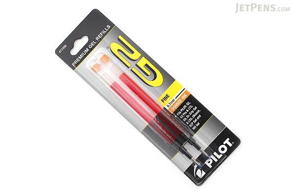 Pilot G2 Gel Pen Refill - 0.7 mm - Orange - Pack of 2 - PILOT BG27RORG-6PK