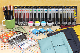 New Products: Teffa Bag in Bags, Sakura Foam Erasers, Writing Boards, Pencil Sharpeners, Stickers, Felt Tip Pens and More!