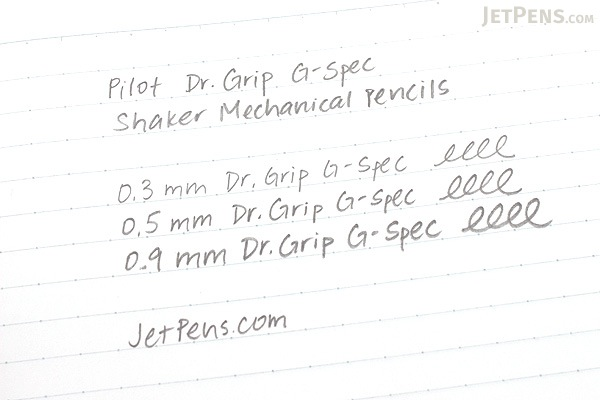Pilot Dr. Grip G-Spec Frost Color Shaker Mechanical Pencil - 0.5 mm - Frost Pink Body - PILOT HDGS-60R RP