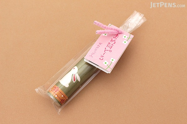Kurochiku Mini Tube Doll with Paper Clips - Rabbit - KUROCHIKU 71306604
