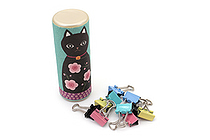 Kurochiku Tube Doll with Binder Clips - Cat - KUROCHIKU 71306613