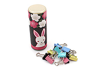 Kurochiku Tube Doll with Binder Clips - Rabbit - KUROCHIKU 71306614