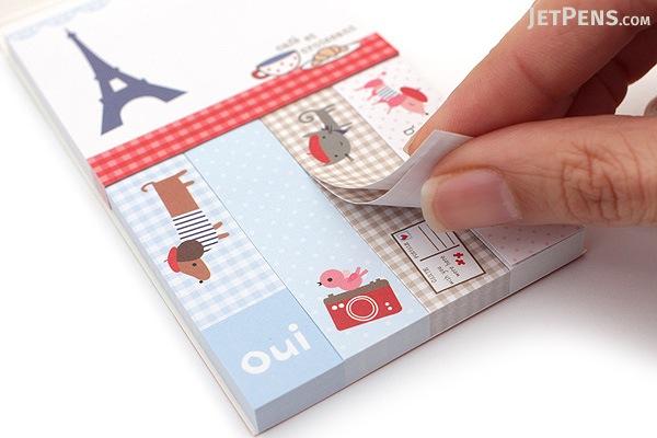 Galison Mini Sticky Notes - Paris - GALISON 978-0-7353-2915-7