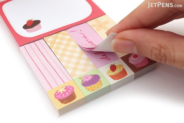 Galison Mini Sticky Notes - Cupcakes - GALISON 978-0-7353-3091-7