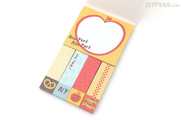 Galison Mini Sticky Notes - The Big Apple - GALISON 978-0-7353-3213-3