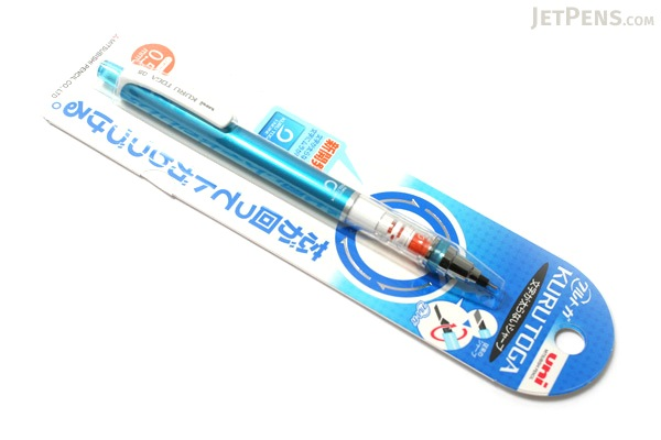 Uni Kuru Toga Auto Lead Rotation Mechanical Pencil - 0.5 mm - Blue Body - UNI M54501P.33