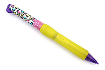 Tombow Olno Body Knock Mechanical Pencil - Limited Edition Lovely Collection - 0.5 mm - Leopard - TOMBOW SH-OLG02