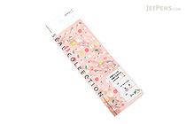 Midori Seal Collection Planner Stickers - Java Sparrow & Apple - MIDORI 82194-006