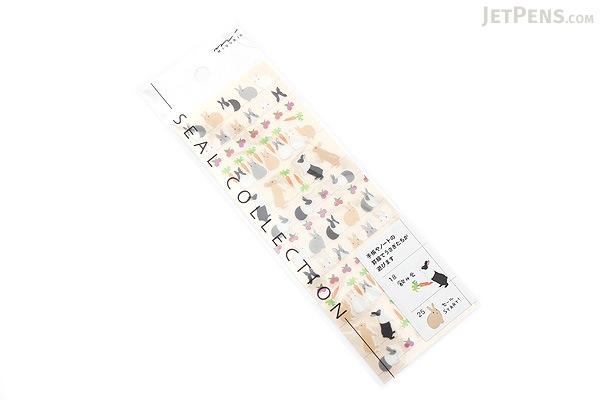 Midori Seal Collection Planner Stickers - Rabbit - MIDORI 82196-006