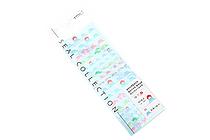 Midori Seal Collection Planner Stickers - Mt. Fuji - MIDORI 82199-006