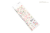 Midori Seal Collection Planner Stickers - Small Java Sparrow - MIDORI 83002-006