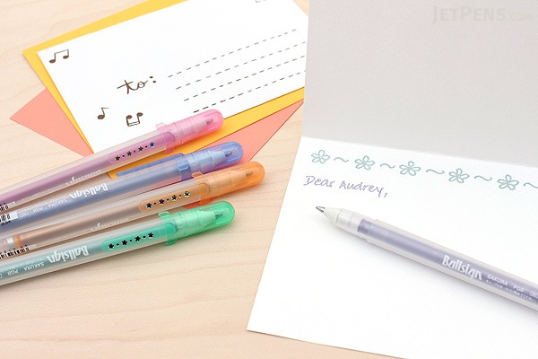Sakura Ballsign Fuchidoru Outline Pen - 0.8 mm - 5 Color Set - SAKURA PGB5H