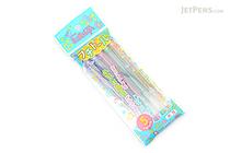 Sakura Ballsign Fuchidoru Outline Pen - 0.8 mm - 5 Color Set - SAKURA PGB5H