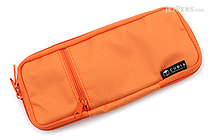 Cubix Round Zip Colored Pen Case - Orange - CUBIX 106159-04-78