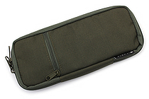 Cubix Round Zip Colored Pen Case - Khaki (Olive) - CUBIX 106159-11-78