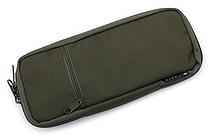 Cubix Round Zip Colored Pen Case - Khaki (Olive) - CUBIX 106159-11-78