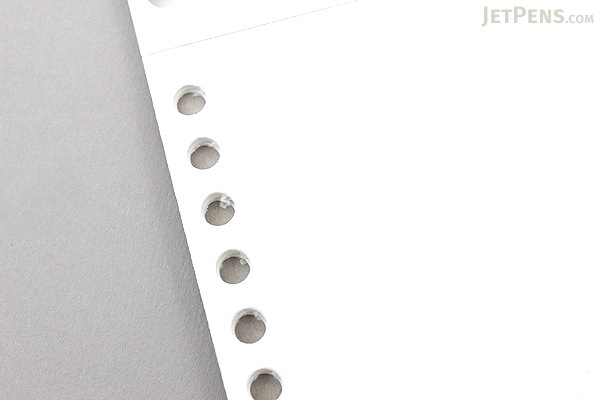 Maruman Smooth to Write Loose Leaf Notepad - B5 - Blank - 26 Holes - 50 Sheets - MARUMAN L1206P