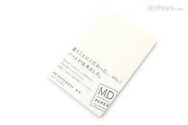 "Midori MD Notebook - 4"" x 6"" - Blank - MIDORI 13799-006"