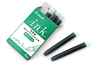 Pilot Fountain Pen Ink Cartridge - Green - Pack of 5 - PILOT IRF-5S-G